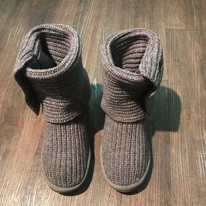 UGG 🔴 Knit cozy Boots